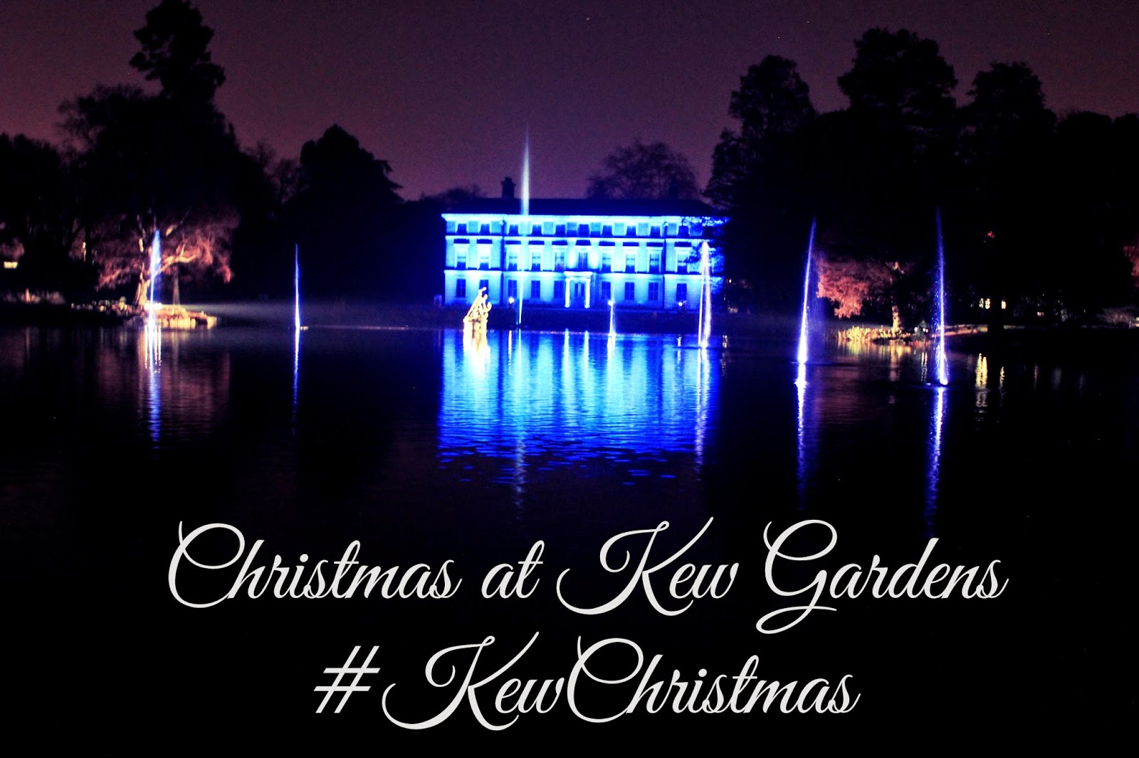 Christmas at Kew Gardens #KewChristmas