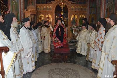 ИПЦ Греции: Тезоименитство Архиепископа Каллиника. ФОТО