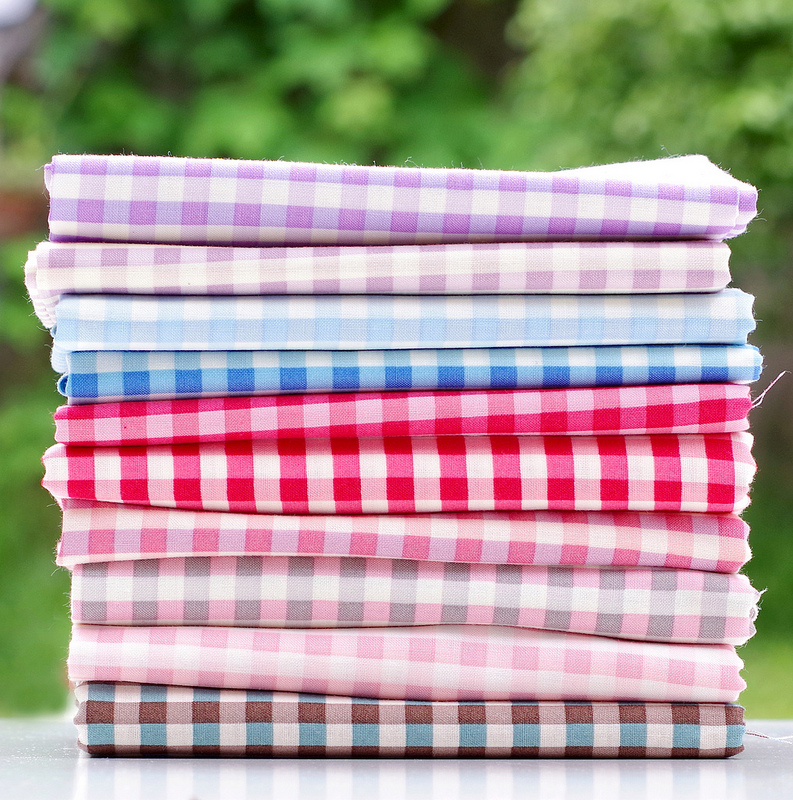 Yuwa fabric stash basics - Gingham | © Red Pepper Quilts 2017