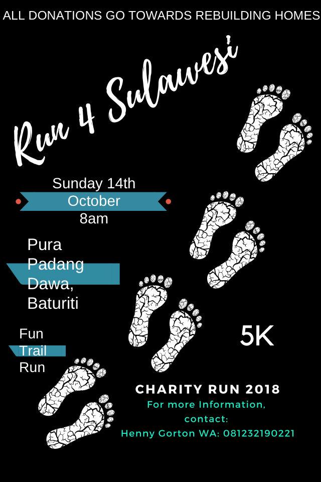 Run 4 Sulawesi • 2018