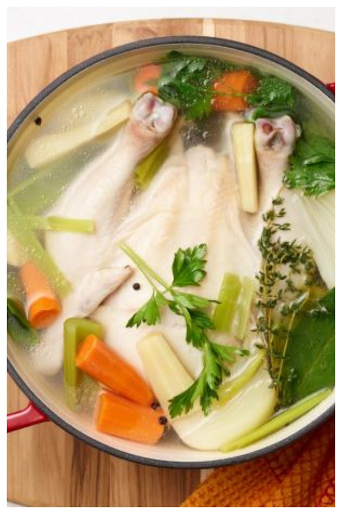 Chicken Broth Soup Recipe - சிக்கன் ரசம் சூப் செய்முறை