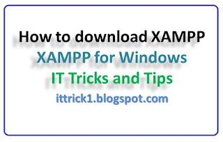 how to download xampp