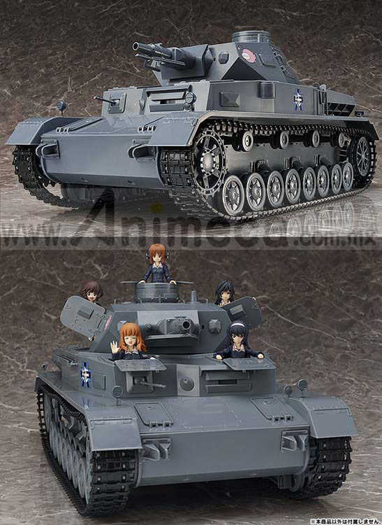 FIGURA Panzer IV Ausf.D 1/12 Figma Vehicles Girls und Panzer