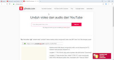 download, video, dari, youtube