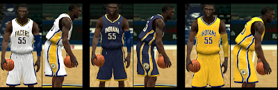 NBA2K14 Indiana Pacers Uniforms Patch