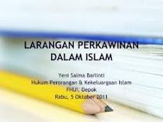 Larangan Perkawinan Sesusuan Dalam Islam