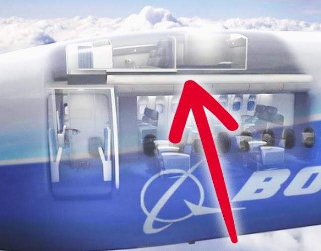 Intip Ruangan Tersembunyi Di Pesawat Yang Jarang Kamu Ketahui