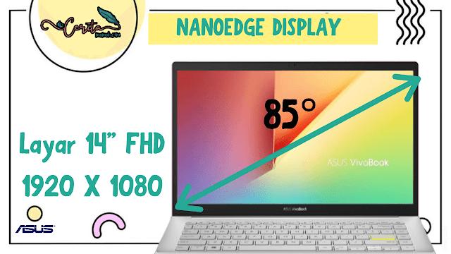 Nanoedge display