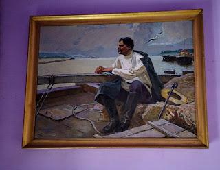 Часів Яр. Палац культури. Галерея картин з зображенням літераторів-класиків