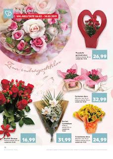 CATALOG KAUFLAND 6 - 12 februarie 2019 promotii buchete de flori