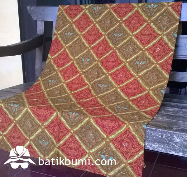 Kain Batik TULIS komb. CAP motif Sidoluhur