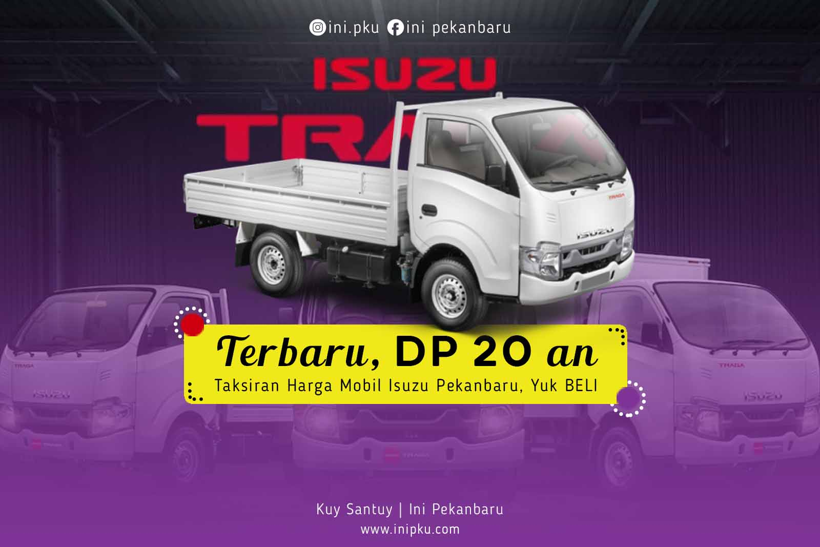 Terbaru DP 20 an, Taksiran Harga Mobil Isuzu Pekanbaru, Yuk BELI