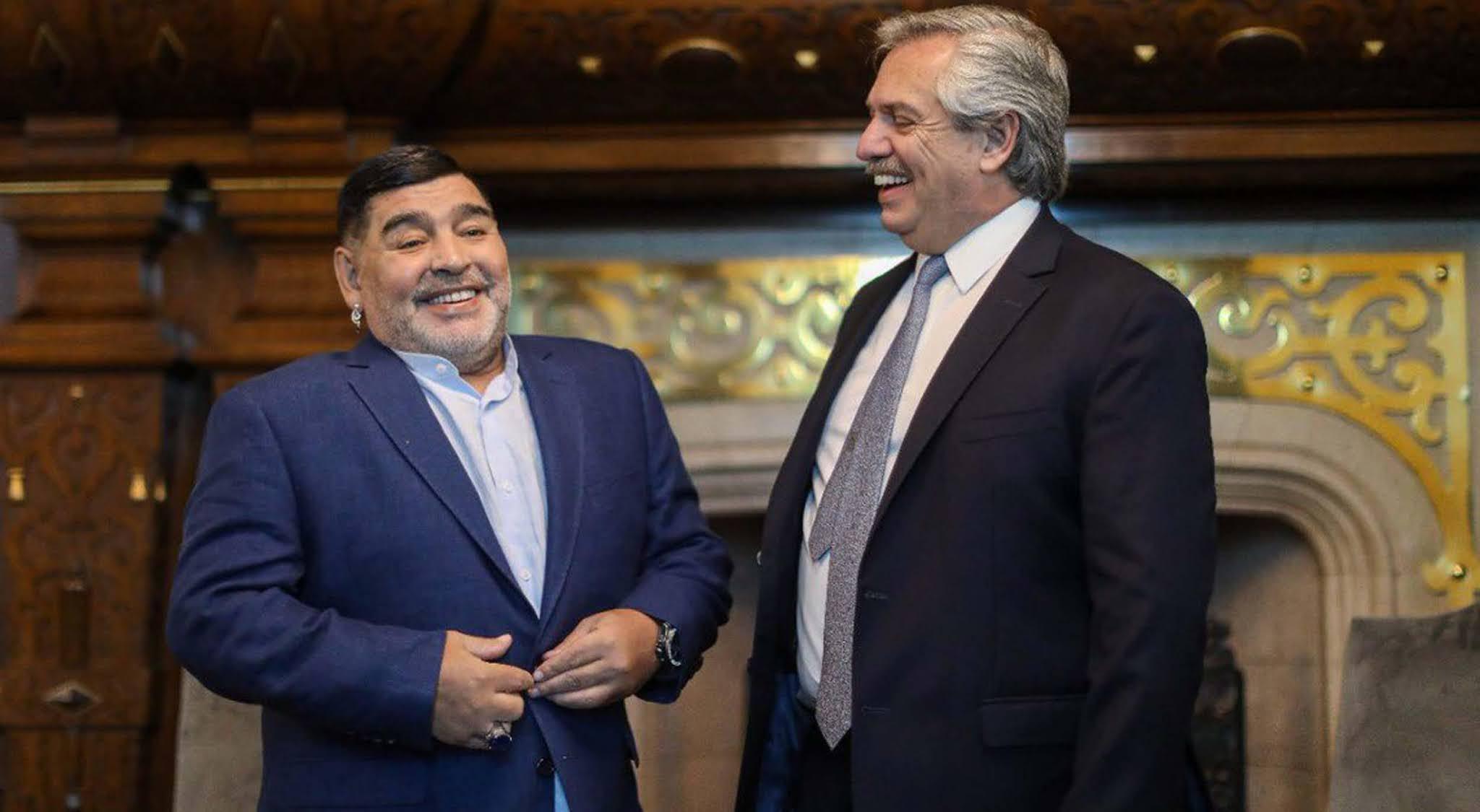 """Alberto Fernández tras la muerte de Maradona: """"Es muy triste para todos los argentinos"""""""