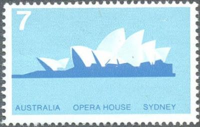 Australia-Sydney Opera House -1973 Architecture