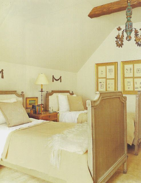 Pamela Pierce Pam bedroom French farmhouse Swedish European