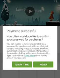 Membeli Aplikasi di Play Store dengan Pulsa