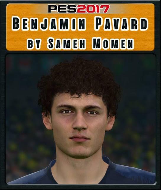 Benjamin Pavard Face PES 2017