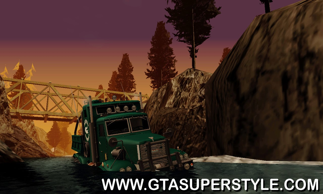 GTA SA - Trilha de Off-Road