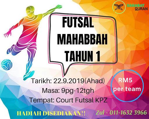 Futsal Mahabbah (SQUKM)