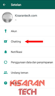 Cara Membackup Chat Whatsapp Ke Memori Internal