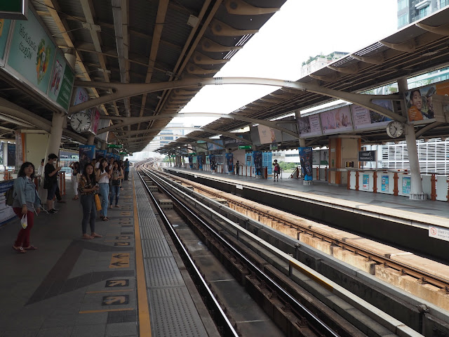 Бангкок, надземное метро BTS Skytrain (Bangkok, BTS Skytrain)