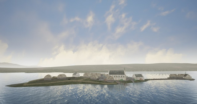 Medieval home of Lords of the Isles virtually reconstructed