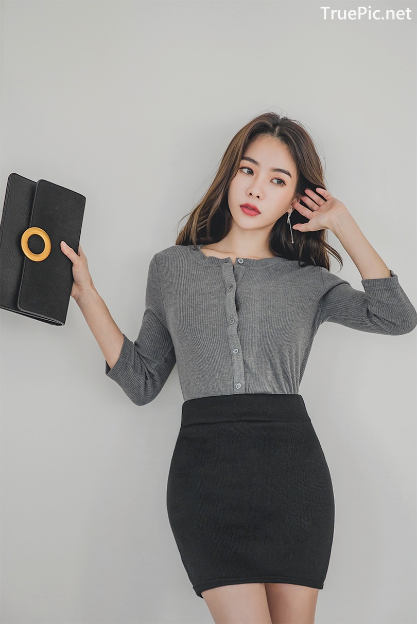 Image Korean Fashion Model - An Seo Rin - Office Dress Collection - TruePic.net - Picture-5