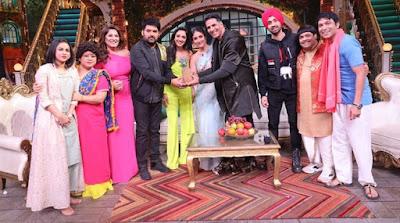 Good News star cast on The Kapil Sharma Show