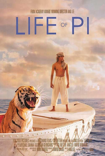 Life of Pi 2012 Dual Audio ORG Hindi 480p BluRay 400MB ESubs poster