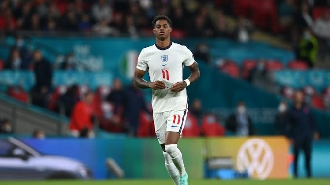 England's Marcus rashford pens emotional statement after he was racially abuse over his penalty miss at Euro 2020