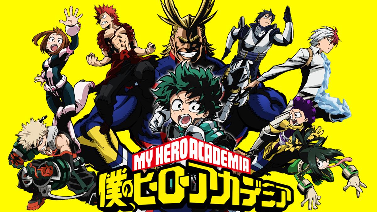 My Hero Academia estará disponible en Netflix España