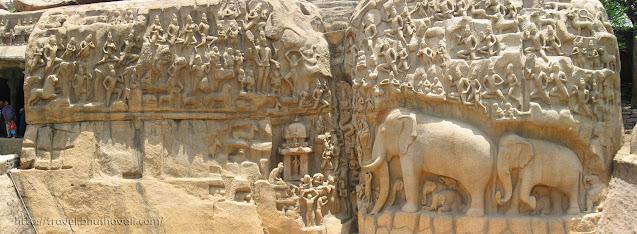 Bhagiratha Penance Arjuna Penance UNESCO Mahabalipuram