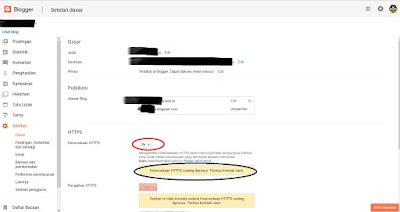 Cara Mengaktifkan Https untuk Blog Domain Khusus