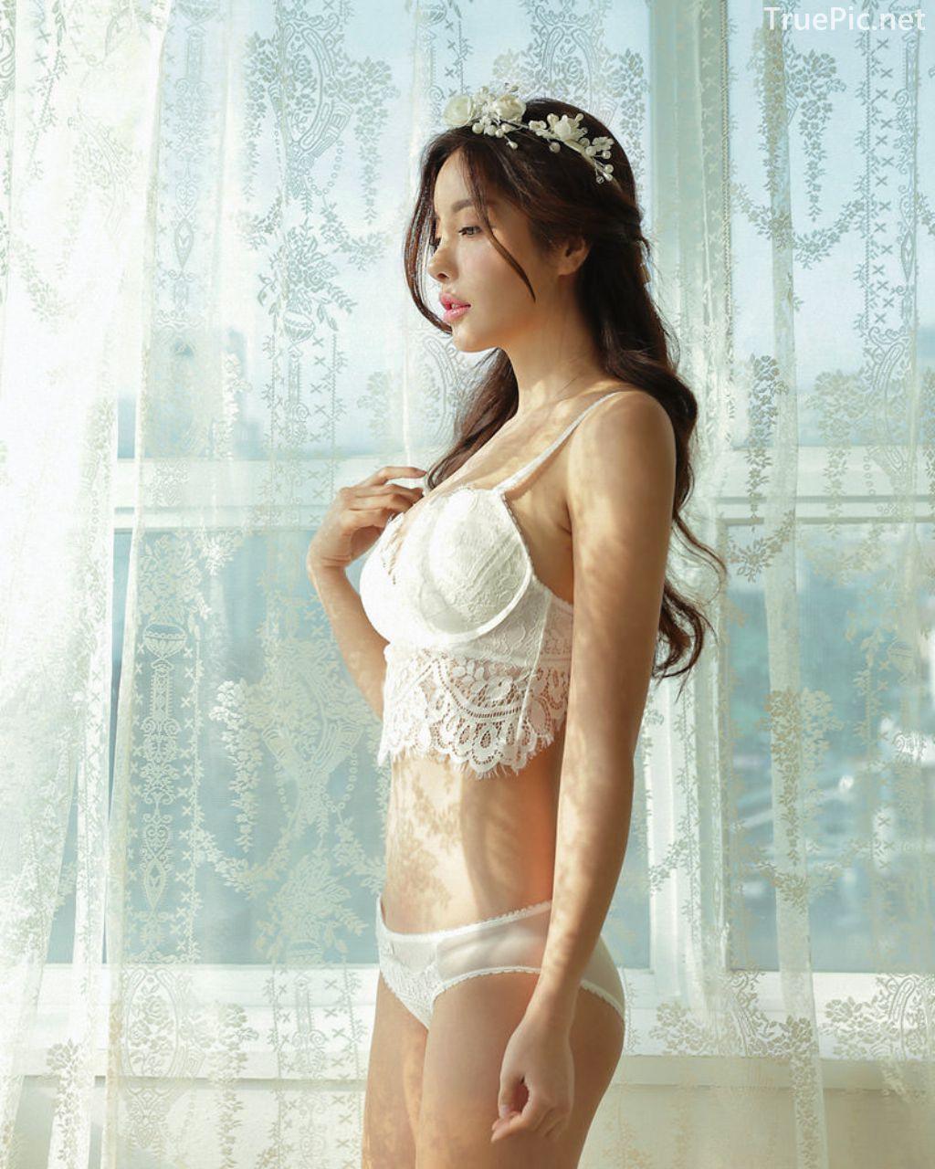 Korean Fashion Model - Jin Hee - Lovely Soft Lace Lingerie - TruePic.net - Picture 5