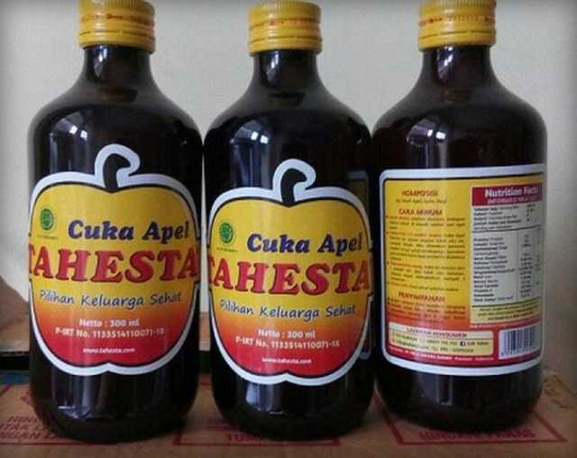 Manfaat Cuka Apel Tahesta untuk Kesehatan