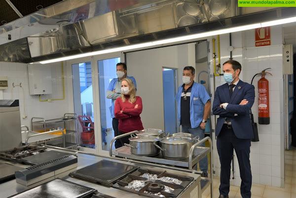 Las obras de mejora del Hospital de Dolores avanzan a buen ritmo