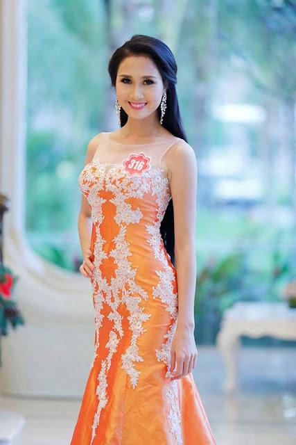 """Nguyễn Thị Hà tại cuộc thi """"Hoa hậu Việt Nam 2014"""""""