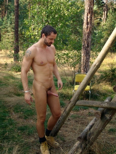 in woods naked boys