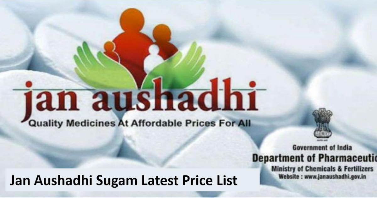 Government Discounted Medicine Jan Aushadhi Sugam Generic