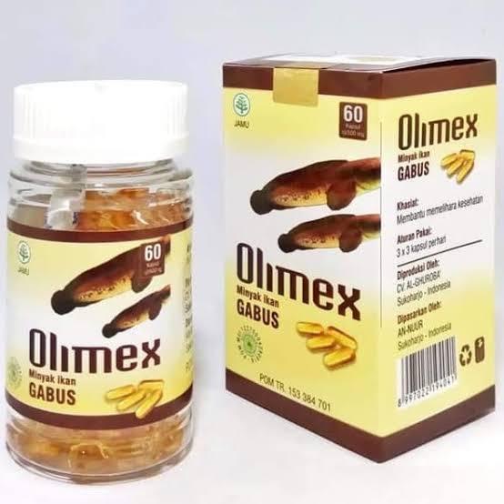OLIMEX - KAPSUL MINYAK IKAN GABUS