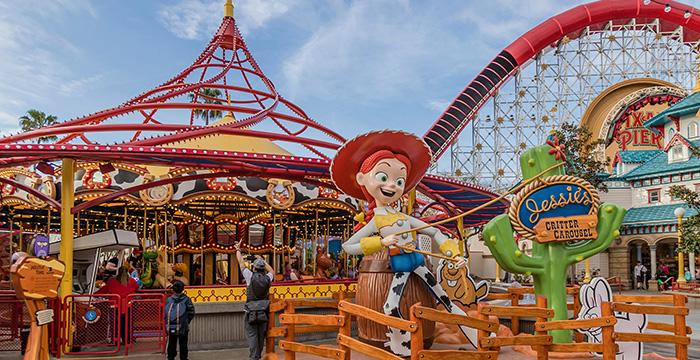 Pixar Pier en Disney California Adventure Park