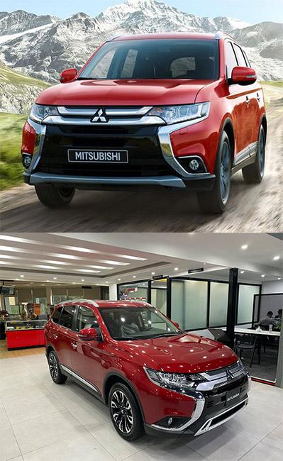 Mitsubishi Outlander 2021. Màu đỏ. Mới 99%