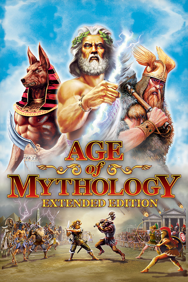 Descargar Age Of Mythology Extended Edition PC Cover Caratula