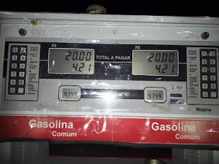 Combustíveis volta a ter aumento