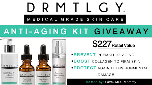 DRMTLGY Anti-Aging Kit Giveaway - Here We Go Again...Ready?