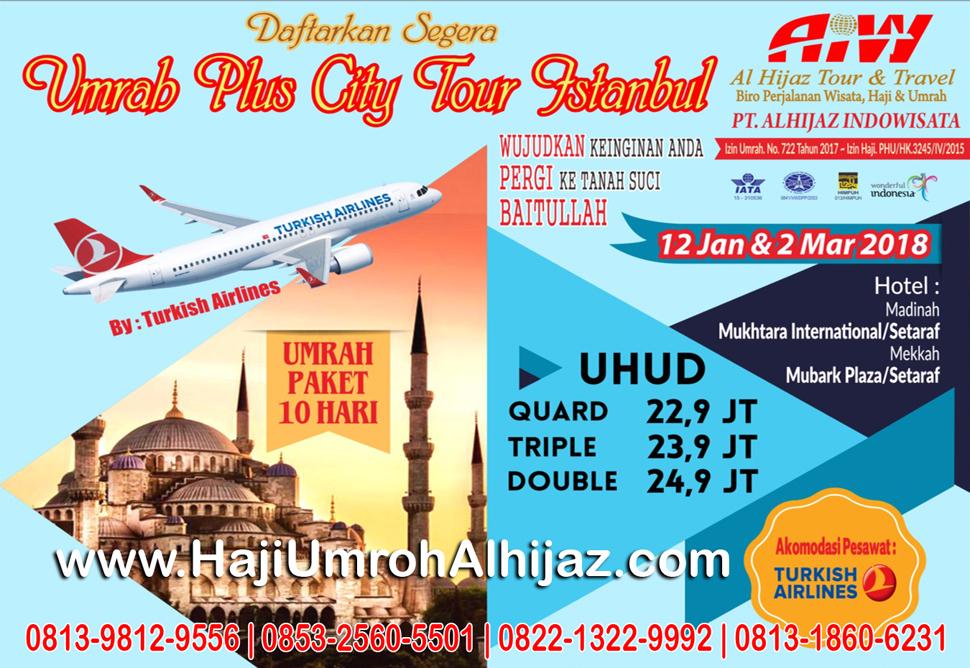 Alhijaz Indowisata citytour Istanbul