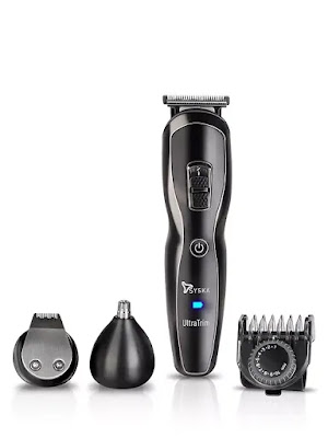 SYSKA HT3333K Corded and Cordless Stainless Steel Blade Grooming Trimmer | Best Beard Trimmers For Men in India 2021 | Beard Trimmer Reviews India