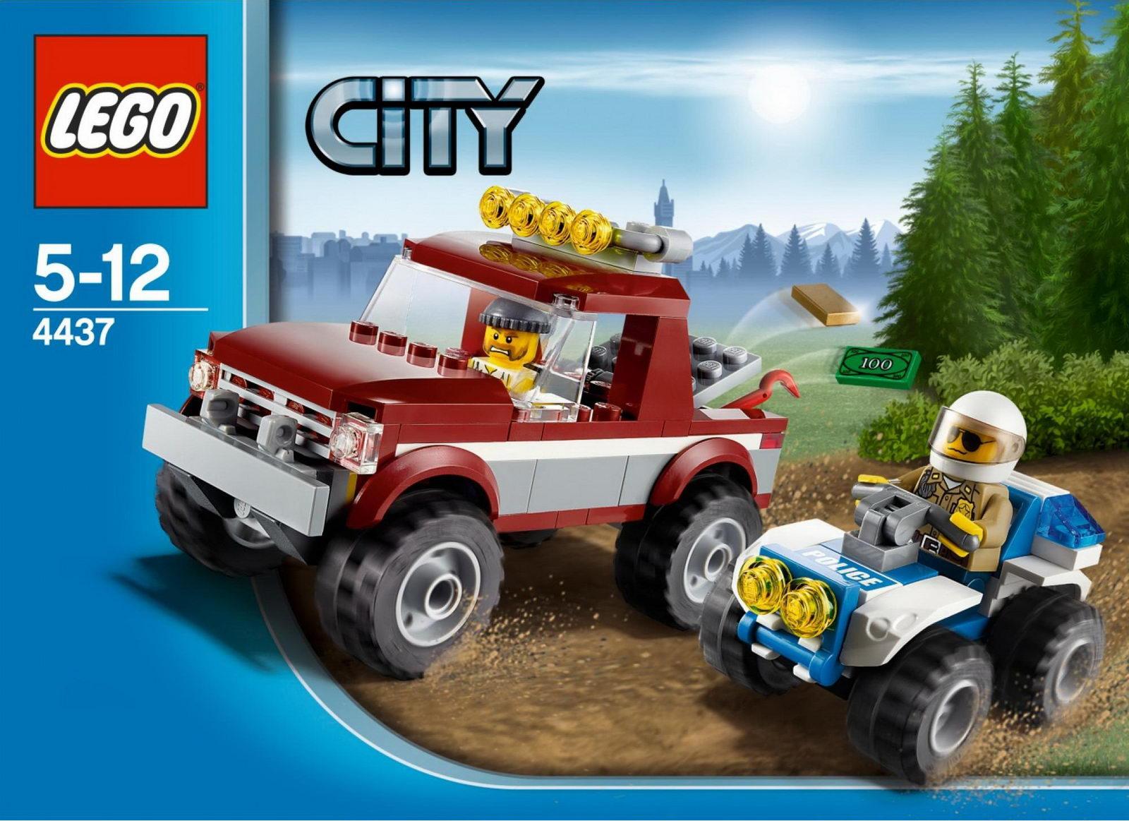 Jual Lego Murah Indonesia Lego City Police Pursuit 4437