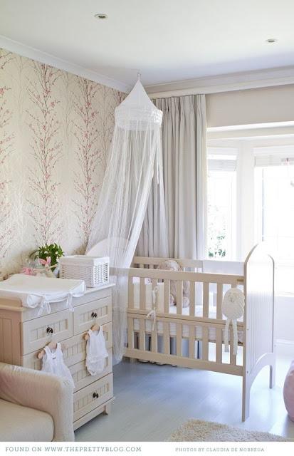 quarto de bebe provençal