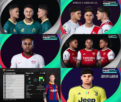 PES 2021 New Facepack by SR